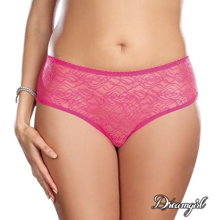 Dreamgirl Dreamgirl Ruffled Fun Crotchless Panty Queen