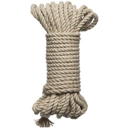 Doc Johnson KINK - Bind & Tie Hemp Bondage Rope - 30'