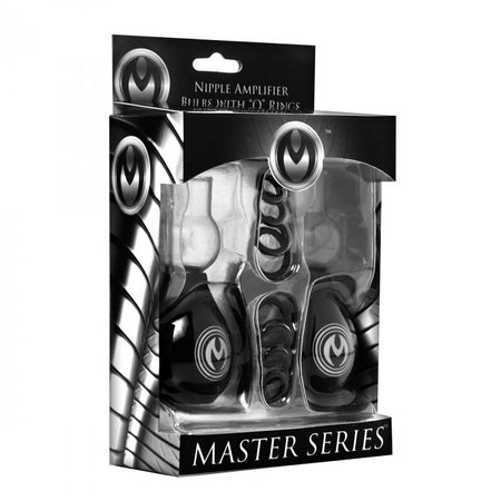 Master Series Master Series Nipple Amplifier Enlargement Bulbs with O-Rings