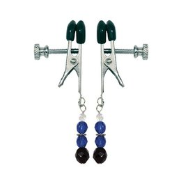 Beaded Broad Tip Clamps