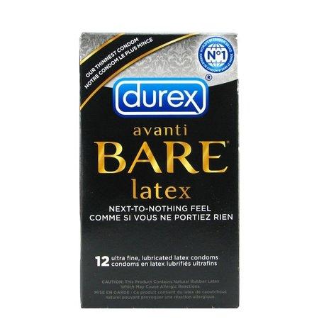 Durex Avanti Bare Latex Condoms 12 Pack