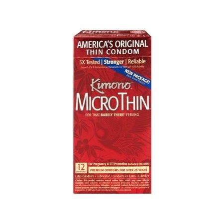 Kimono Microthin Condom 12 Pack