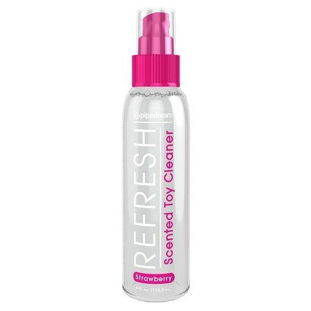 Pipedream Refresh Strawberry Scented Toy Cleaner 4oz