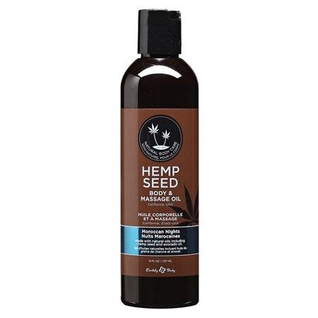 Earthly Body Earthly Body Hemp Seed Massage & Body Oil 8oz