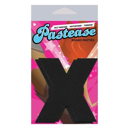 Pastease Black X's Pasties