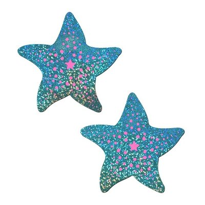 Pastease Twinkling Seafoam Green & Pink Pasties