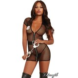 "Dreamgirl ""Dirty Cop"" Lingerie Costume OS"