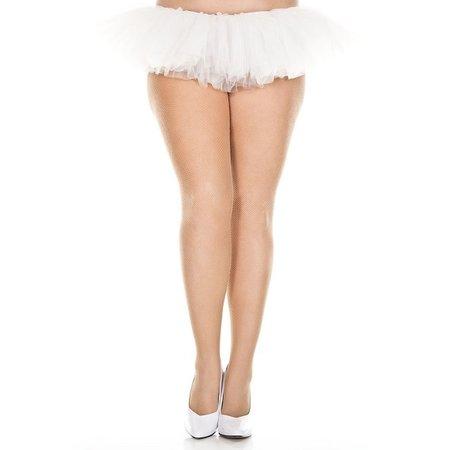 Music Legs Music Legs Fishnet Seamless Spandex Pantyhose Queen OS