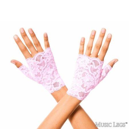 Music Legs Music Legs Lace Fingerless Wrist Gloves