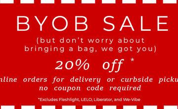 May 2020 BYOB Sale