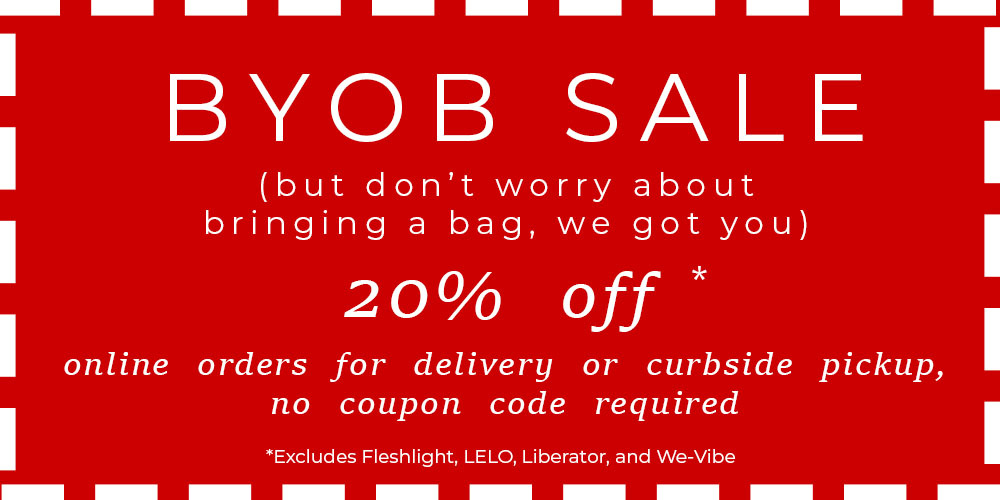 May 2020 BYOB Sale