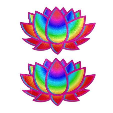 Pastease Pastease Acid Rainbow Lotus Pasties