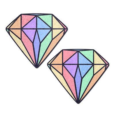 Pastease Pastel Rainbow Diamond Pasties