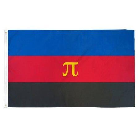 Polyamory Pride Flag 3ft x 5ft