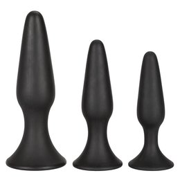 CalExotics Silicone Anal Trainer Kit