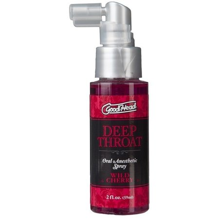 Doc Johnson GoodHead Deep Throat Spray 2oz