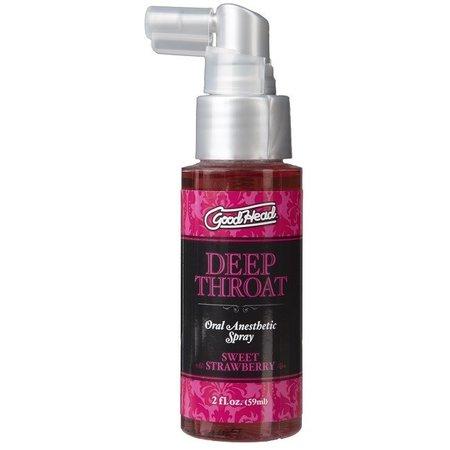 Doc Johnson Good Head Deep Throat Spray 2oz