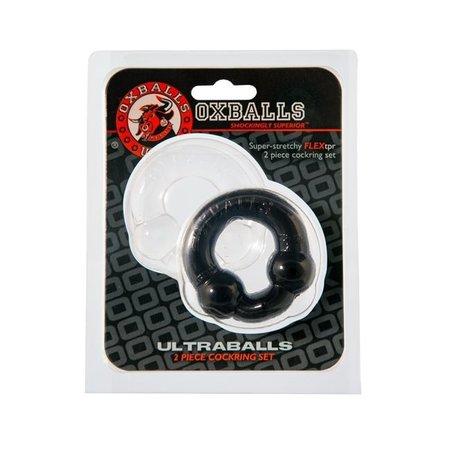 Oxballs ULTRABALLS 2 Piece Cock Ring Set
