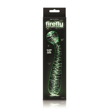 NS Novelties Firefly Glass - G Spot Glow Wand