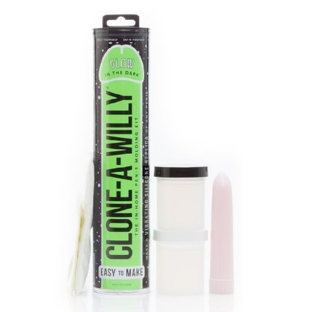 Clone-A-Willy Clone-A-Willy Vibrator Kit - Glow-in-the-Dark