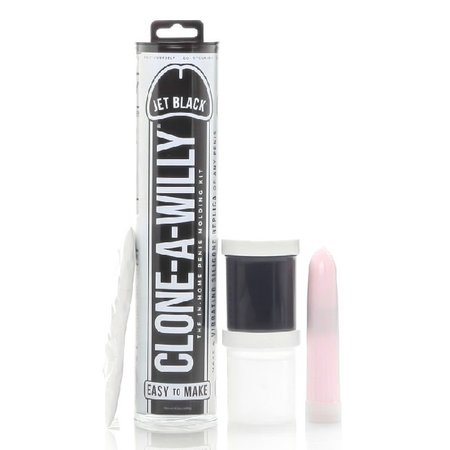 Clone-A-Willy Clone-A-Willy Vibrator Kit - Jet Black