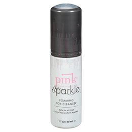 Pink Pink Sparkle Toy Cleaner 1.7oz