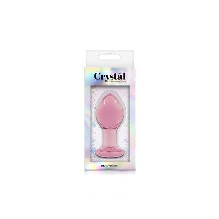 NS Novelties Crystal Premium Glass Tapered Plug - Large