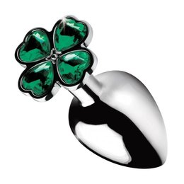 Booty Sparks Lucky Clover Gem Plug - Medium