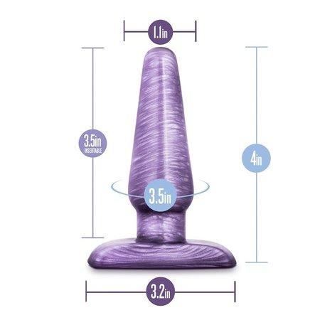 Blush Novelties B Yours - Small Cosmic Plug - Purple
