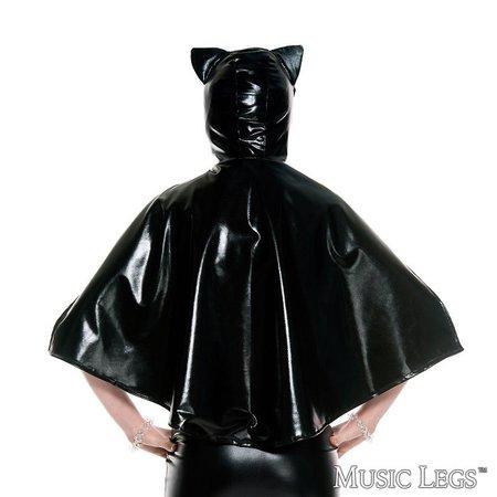 Music Legs Music Legs Black Cat Cape OS