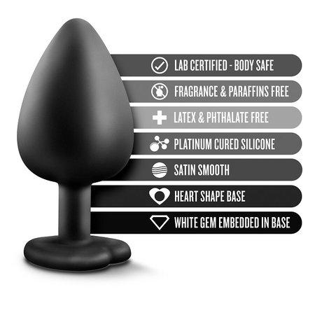 Blush Novelties Temptasia Bling Plug Large - Black