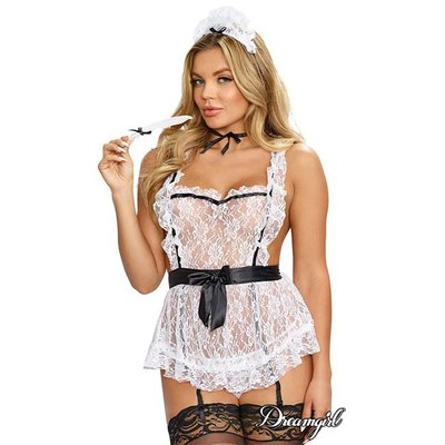 """Dreamgirl """"Maid to Tease"""" Lingerie Costume OS"""