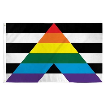 Gay Straight Alliance Pride Flag 3ft x 5ft