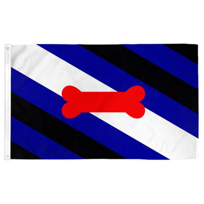 Puppy Pride Flag 3ft x 5ft
