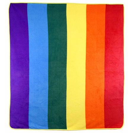 Rainbow Polar Fleece Blanket