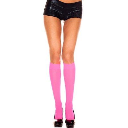 Music Legs Music Legs Opaque Knee High OS