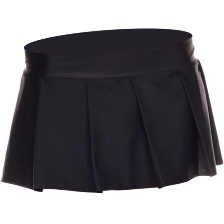 Music Legs Music Legs Solid Color Pleated Skirt