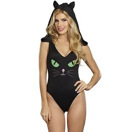 Dreamgirl Pretty Kitty Bodysuit