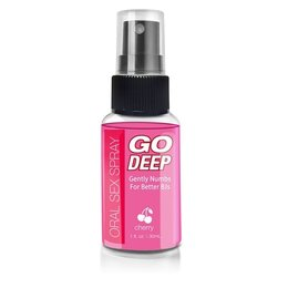 Topco Sales Go Deep Oral Sex Spray 1oz