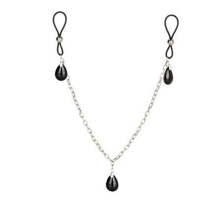 CalExotics Nipple Play Non-Piercing Nipple Chain Jewelry
