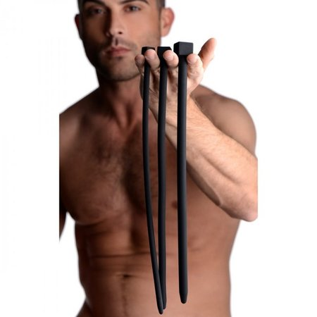 Master Series Master Series Bolted XL Silicone Urethral Sounds