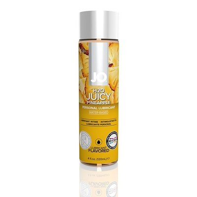 System JO JO H2O Juicy Pineapple Flavoured Lubricant 4oz