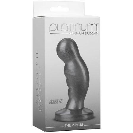 Doc Johnson Platinum Premium Silicone - The P-Plug