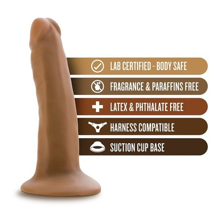 """Blush Novelties Dr. Skin 5.5"""" Cock with Suction Cup"""