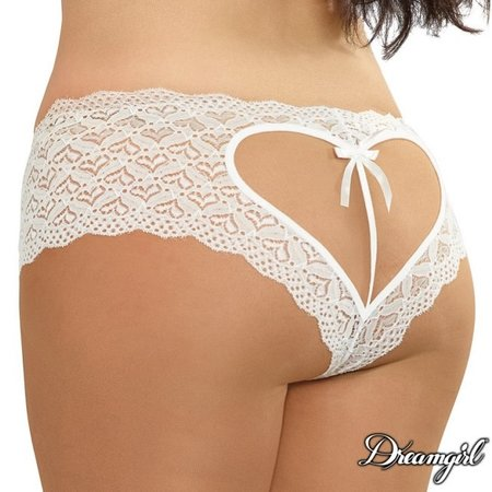 Dreamgirl Dreamgirl Sweetheart Crotchless Boyshort Queen