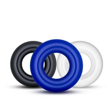 Blush Novelties Stay Hard Donut Ring - Assorted Colours