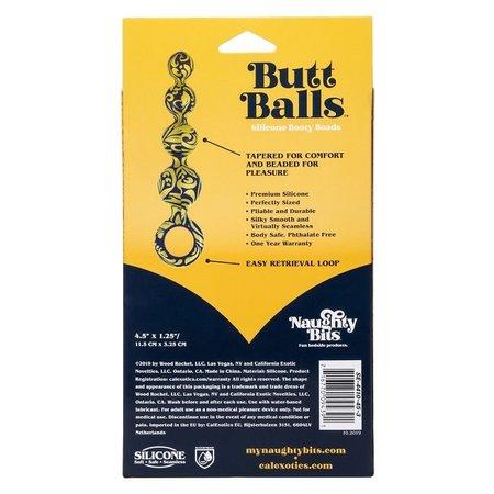 CalExotics Naughty Bits Butt Balls Silicone Booty Beads