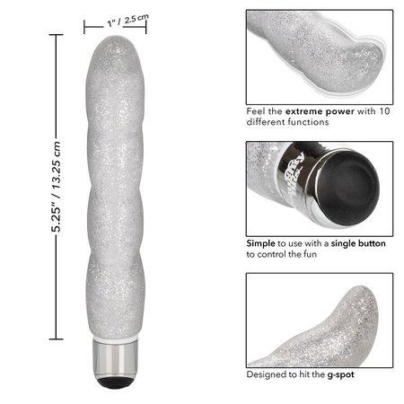 CalExotics Naughty Bits Screwnicorn Majestic G-spot Vibrator