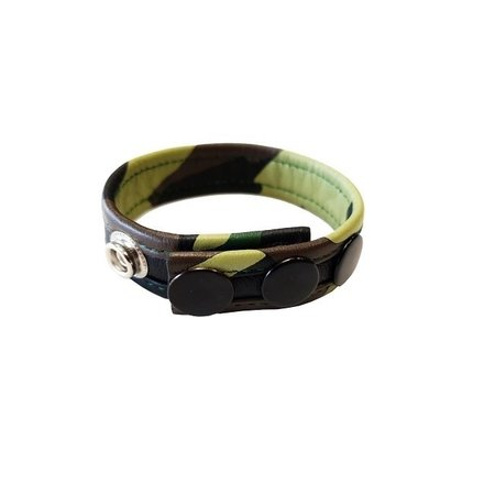 Rouge Rouge Leather Cock Strap Camo