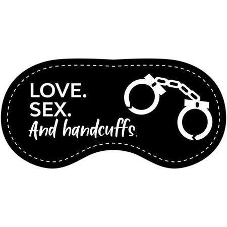 Eye Chatters Eye Chatters Satin Blindfold - Love sex and handcuffs